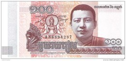 Cambodia - Pick 65 - 100 Riels 2014 - Unc - Cambodge