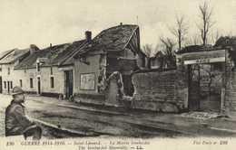 Militaria Guerre 1914 1916 Saint Léonard La Mairie Bombardée RV - France