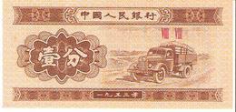 China  - Pick 860c - 1 Fen 1953 - Unc - Cina