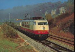 DB , Electric Express Locomotive 103 138-4 - Trains