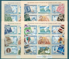 J.O. KIRGHIZSTAN N° 189 / 212 En 4 BF Nxx TB.cote : 18 €. - Jeux Olympiques