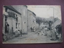 CPA 21 Vers POUILLY En AUXOIS  CREANCEY Hameau BEAUME LES ROCHES Grande Rue RARE & TOP ANIMEE 1909 ? Canton ARNAY LE DUC - France