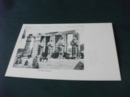 EGITTO EGYPTE  RAMESSEUM - Egitto