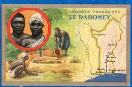 DAHOMEY - Colonie Française -  Carte Pub Lion Noir -  Format CPA - Dahomey