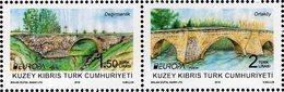 Northern Cyprus - 2018 - Europa CEPT  - Bridges - Mint Stamp Set - Unused Stamps