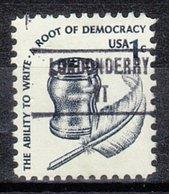 USA Precancel Vorausentwertung Preo, Locals Vermont, Londonderry 853 - Etats-Unis
