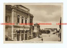 SAN FELICE SUL PANARO - TEATRO COMUNALE F/GRANDE VIAGGIATA 1942 ANIMATA - Bologna