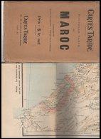 NOUVELLE  CARTE  DU MAROC - Cartes Géographiques