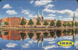 GERMANY Gift-card  IKEA - Lübeck 2 - Gift Cards