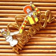 Joli Pin's Mc Donald's Pin'show 92, Double Moule, Arthus Bertrand, Pins Pin, Voir Photos. - McDonald's