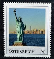 Pi575 Freiheitsstatue, New York, Statue Of Liberty, Weltwunder, AT 2018 ** - Österreich