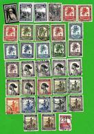 3224  ---  CONGO  BELGE  -  Lot  De  Tmbres Neufs, Avec  Charnières  &  Oblitéés - Congo Belga