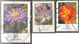 Germania 2005 Flowers - 3 Val  Fu - BRD