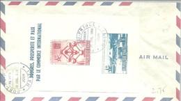 FDC HAITI 1958 - 1958 – Bruselas (Bélgica)