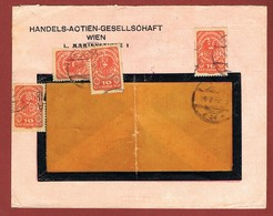 Infla Brief Perfins H A G Wien - 1918-1945 1. Republik