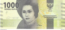 Indonesia - Pick 154 - 1000 Rupiah 2016 - Unc - Indonésie