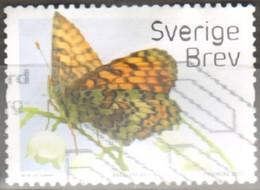 Svezia 2017 Melitaea Cinxia Fu - Used Stamps