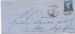 LSC - N°14 OBL. CERCLE De POINTS - 26 NOV. 59 - Marcophilie (Lettres)
