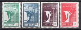 1990. LITUANIA - LITHUANIA - LITUANIE - LITAUEN -  Mi. Nr. 461/464 - MINT - (0120.6) - Lituania