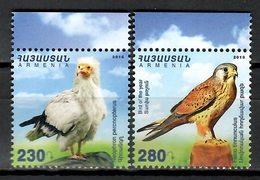 Armenia 2016 / Birds MNH Vögel Aves Oiseaux / Cu9617  10 - Pájaros