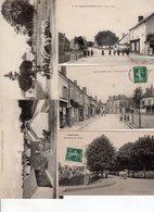 Beau Lot De 17 Cartes Postales Anciennes Département 18 Cher Dont Animation - Cartes Postales