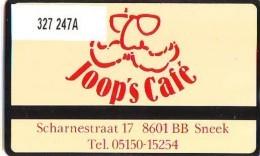 Telefoonkaart  LANDIS&GYR  NEDERLAND * RCZ.327  247a * Joop's Cafe SNEEK * TK * ONGEBRUIKT * MINT - Nederland