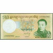 TWN - BHUTAN 30b - 20 Ngultrum 2013 Prefix L UNC - Bhoutan