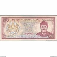 TWN - BHUTAN 17b - 50 Ngultrum 1992 Prefix FD UNC - Bhutan