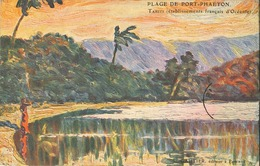 Polynésie Française - Océanie - Plage De Port Phaeton - (Ets Français D' Océanie) Edition L.Gauthier,Tahiti- Inédite - Polynésie Française