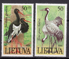 1991 - LITUANIA - LITHUANIA - LITUANIE - LITAUEN -  Mi. Nr. 4889/490 - MINT - (0120.6) - Lituania