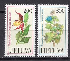 1992 - LITUANIA - LITHUANIA - LITUANIE - LITAUEN -  Mi. Nr. 499/500 - MINT - (0120.6) - Lituania
