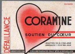 Lyon (69 Rhône) Buvard CORAMINE  Soutien Du Coeur (PPP14946) - Chemist's