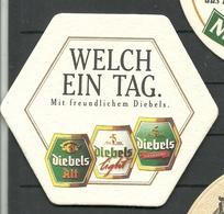 Bierdeckel Deutschland DIEBELS - Bierdeckel