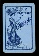 Speelkaart ( 485 )  Wijn  Likeuren Likeur Vins Vin Liqueurs Liqueur Distillerie Stokerij - Elixir D' Ostende  Oostende - Cartes à Jouer Classiques