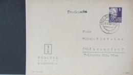 SBZ: Ds-Brief Mit 6 Pf Köpfe I Aus Chemnitz Vom 21.4.50  Knr: 213 - Sowjetische Zone (SBZ)