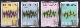Malta Set Of Stamps To Celebrate Europa 1972. - Malta