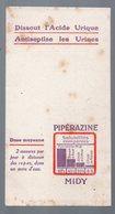Petit Buvard PIPERAZINE MIDY   (PPP14948) - Chemist's