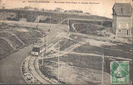 CPA - (76) Seine Maritime - Sainte-Adresse - Boulevard Felix-Faure Et Nouveau Boulevard - Sainte Adresse