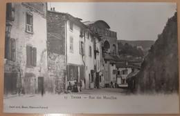 CPA 63 THIERS Rue Des Murailles Dos Non Separé Vers 1900 - Thiers