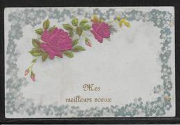 Carte Brodée - Collage - Gaufrée Relief - Système - Brodées