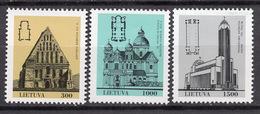 1993 - LITUANIA - LITHUANIA - LITUANIE - LITAUEN -  Mi. Nr. 511/513 - MINT - (0120.7) - Lituania
