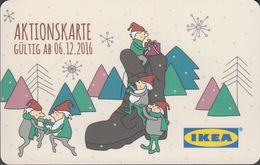 GERMANY Gift-card  IKEA - Christmas 2016 - Gift Cards