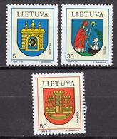 1993 - LITUANIA - LITHUANIA - LITUANIE - LITAUEN -  Mi. Nr. 526/528 - MINT - (0120.7) - Lituania
