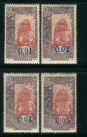 COTE DES SOMALIS ( POSTE ) : Y&T N° 108/111  TIMBRES  NEUFS  AVEC  TRACE  DE  CHARNIERE . - Côte Française Des Somalis (1894-1967)