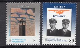 1993 - LITUANIA - LITHUANIA - LITUANIE - LITAUEN -  Mi. Nr. 529/530 - MINT - (0120.7) - Lituania