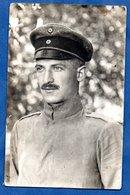 Carte Photo  --  Soldat Allemand  -  1917 - War 1914-18