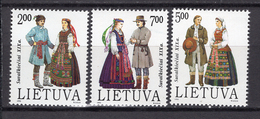 1993 - LITUANIA - LITHUANIA - LITUANIE - LITAUEN -  Mi. Nr. 537/539 - MINT - (0120.7) - Lituania