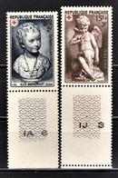 FRANCE 1950 - Y.T. N° 876 / 877  - NEUFS** - France
