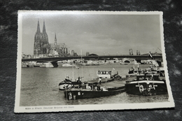 3171   Köln A. Rhein, Deutzer Brúcke Mit Dom - Koeln