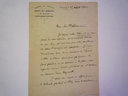 Armée Du LEVANT  - Service Des Remontes Et Haras  :  Lettre Au Départ De BEYROUTH  1922   XXXX - Unclassified
